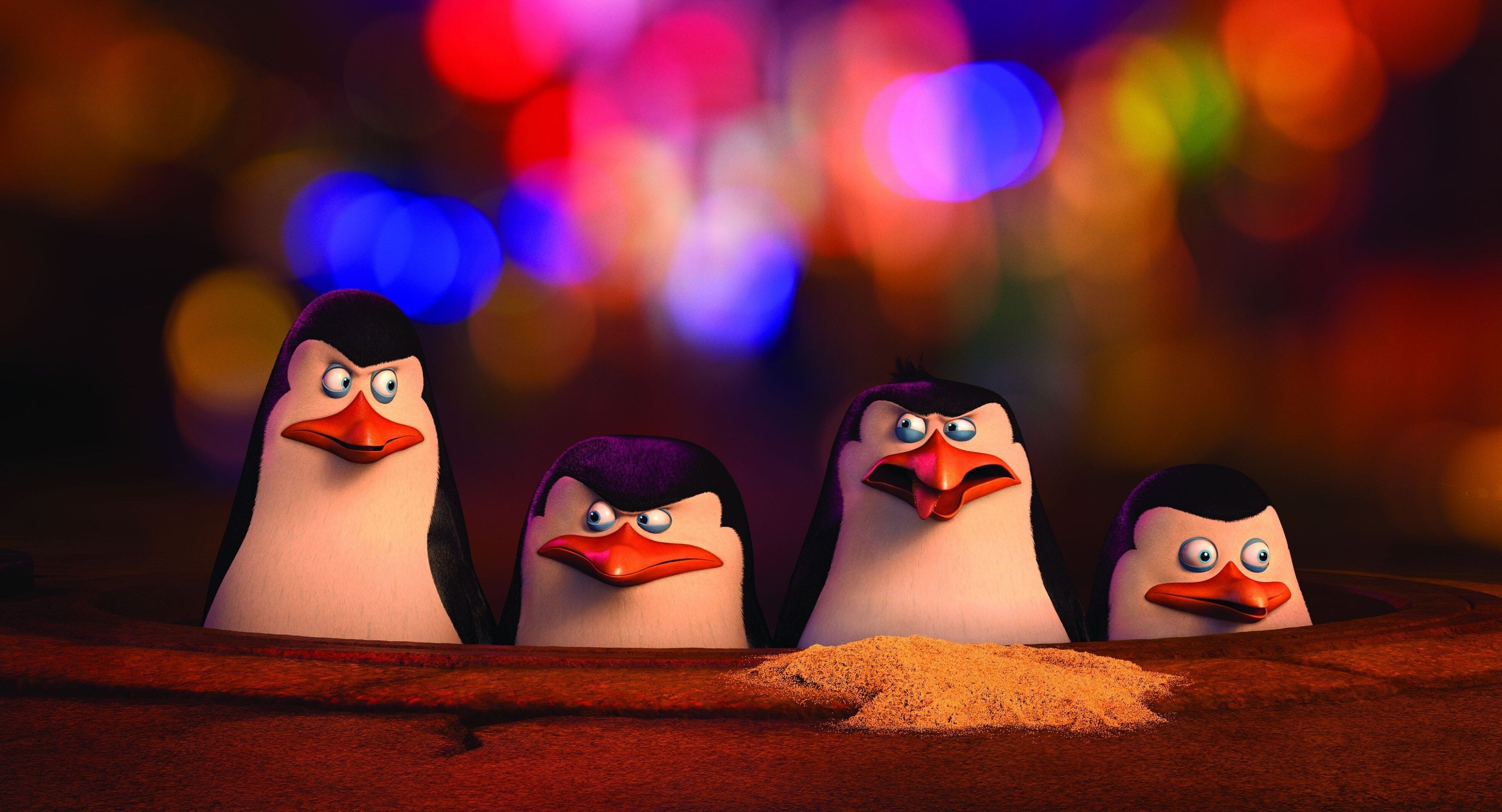 3840X2078 Penguins Of Madagascar 4K Free Best Hd Wallpapers