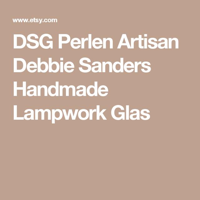 DSG Perlen Artisan Debbie Sanders Handmade Lampwork Glas