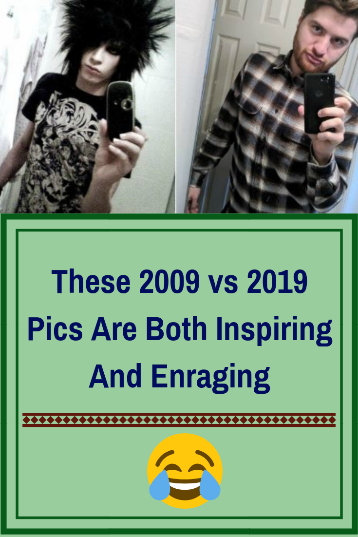 These 2009 Vs 2019 Pics Are Both Inspiring And Enraging Humor Great Memes Funny