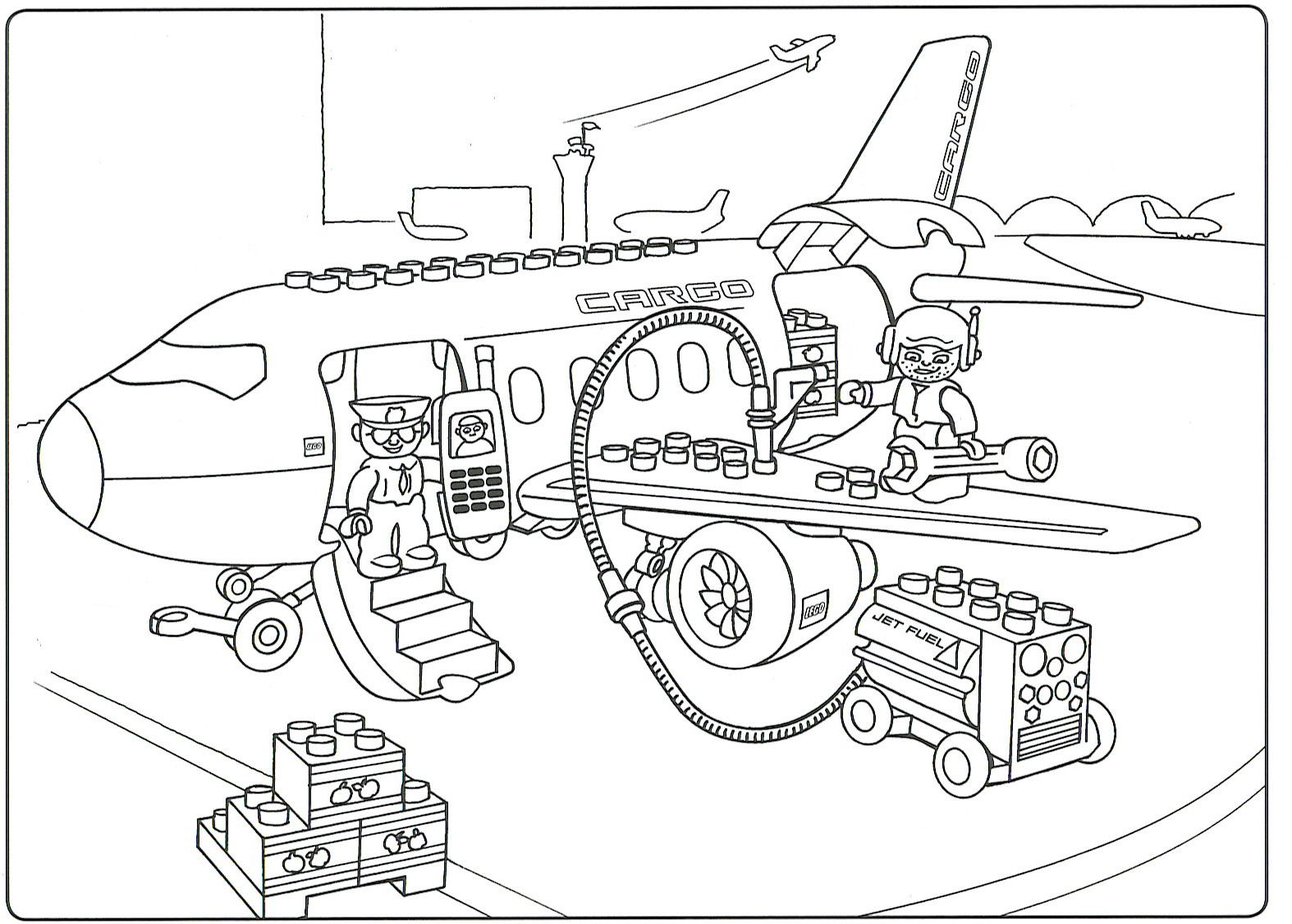 Kleurplaten Van Lego City.Ebricks Gratis Duplo Kleurplaten Colouring Pages Lego Coloring