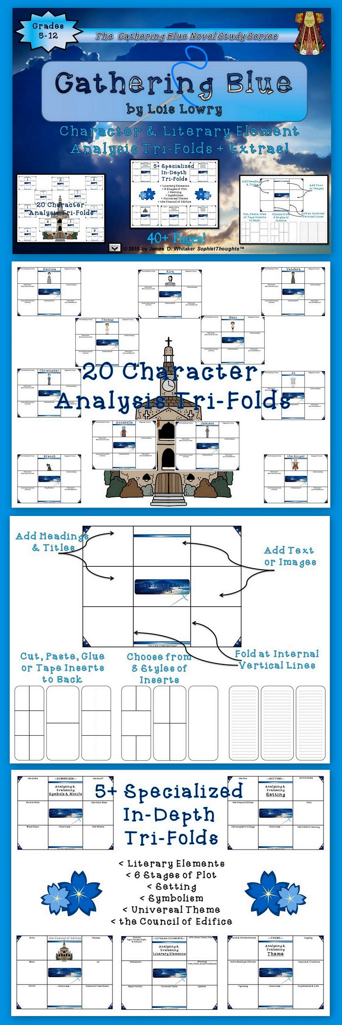 Character Design Analysis : Gathering blue by lois lowry character and plot analysis