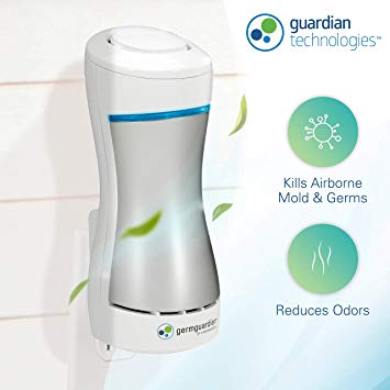 Amazon Com Germ Guardian Pluggable Air Purifier Sanitizer Eliminates Germs And Mold With Uv C Light De Room Freshener Small Air Purifier Room Air Purifier