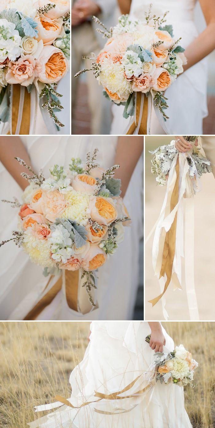 Landhaus-Hochzeit in Gold, Rosé und Ivory mit rustikalem Touch ...
