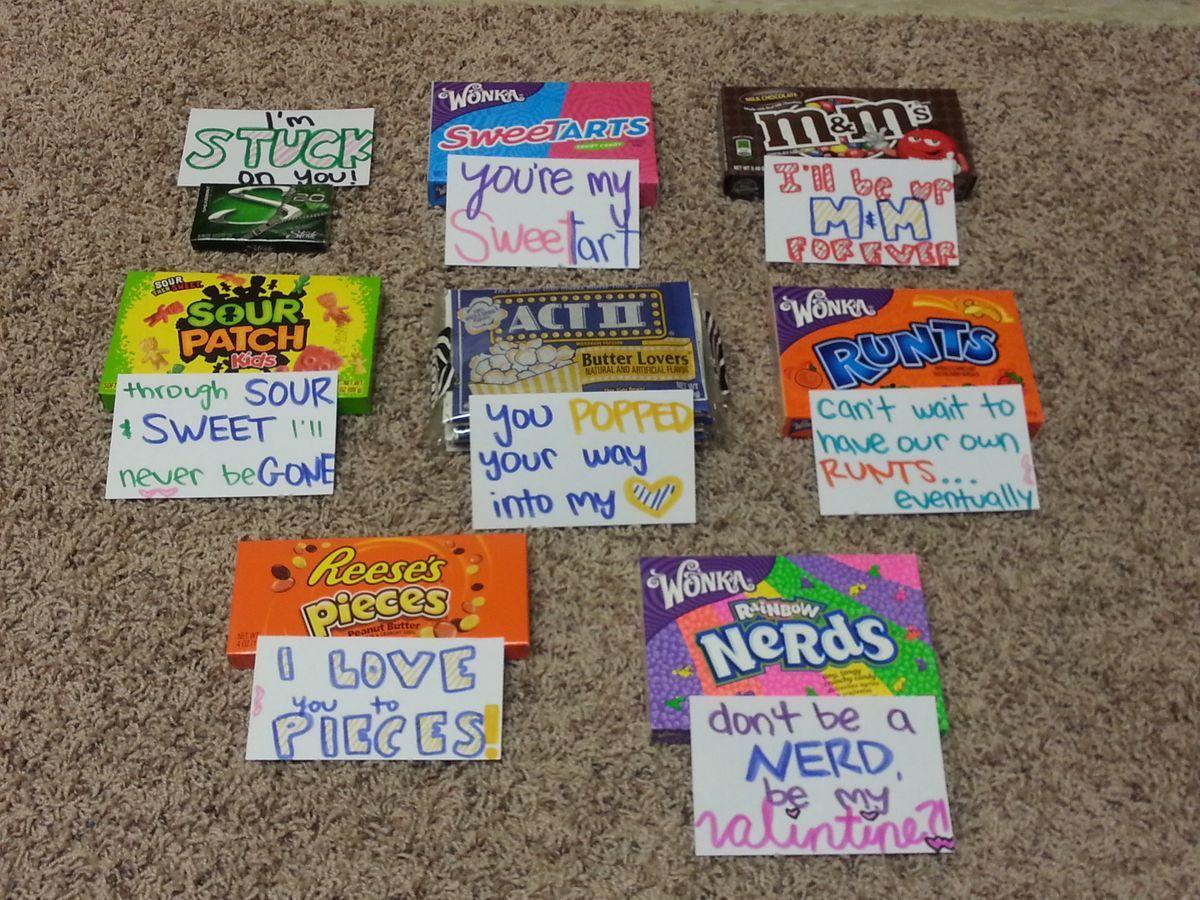 cute candy ideas for boyfriend