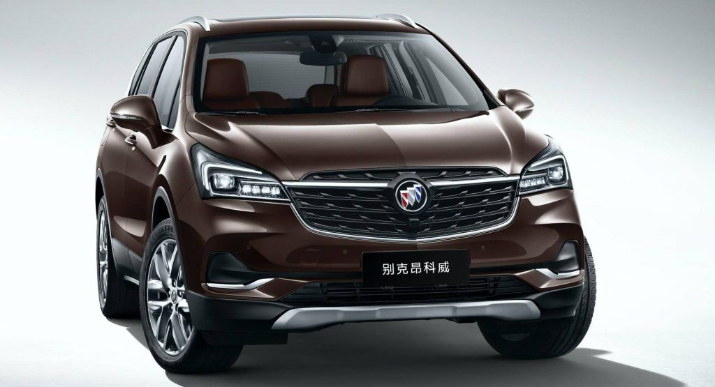 2020 Buick Envision Facelift And New Enclave Suvs Go Official In China Buick Envision Buick Buick Enclave
