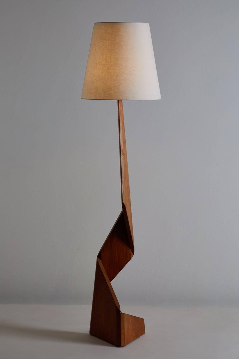 Mid Century Modern Danish Floor Lamp In