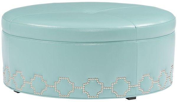 Sensational Vanguard Furniture V40D Moye Round Ottoman S O Hampton Ibusinesslaw Wood Chair Design Ideas Ibusinesslaworg