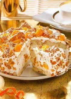 Weihnachts-Mandarinen-Torte Rezept  | LECKER #japanischerkäsekuchen