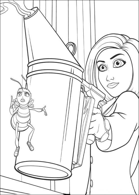 Bee Movie 7 Ausmalbilder für Kinder Malvorlagen zum