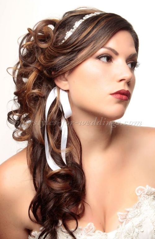 Half Up Wedding Hairstyles Half Up Wedding Hairstyle Hair Do For