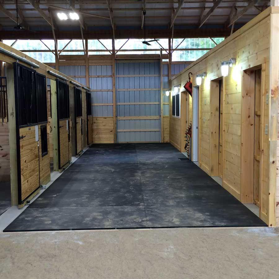 Horse Stall Mats 10x10 Ft Kit Horse Stalls Stall Mats Horse Rubber Horse Stall Mats