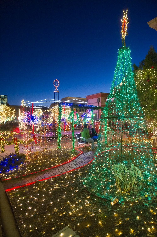 Lights of the ozarks town square fayetteville ar 2014 - Olive garden fayetteville arkansas ...