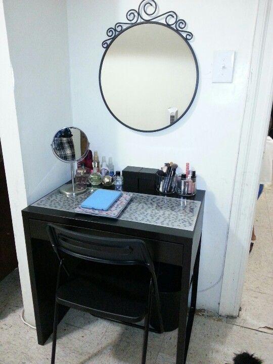 Diy Ikea Vanity Trends Ikea Vanity Beauty Room Micke Desk