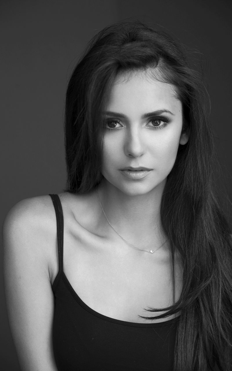 Image Result For Nina Dobrev Black And White Nina Dobrev