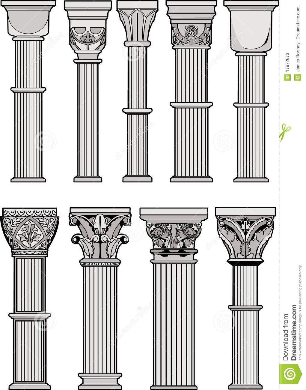 Columnas Romanas 17872673 Jpg 1021 1300 Columnas Romanas Columnas Arquitectura Arte