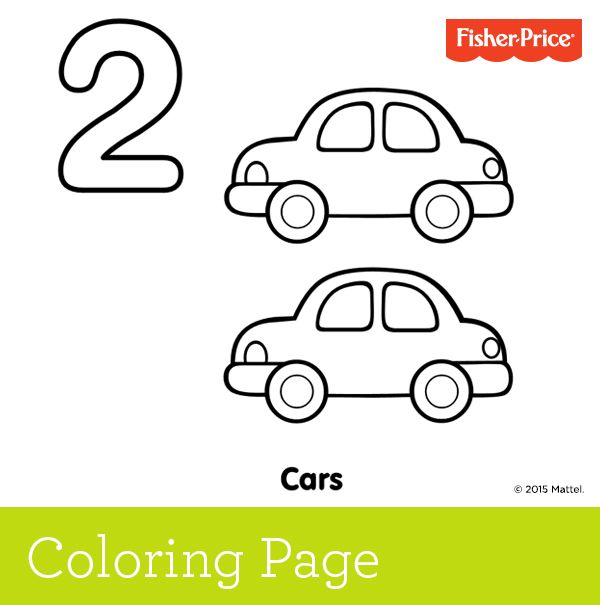 Learning To Count Number 2 Two Cars Go Zip Zooming Around The Track Ask Your Child Preschool Coloring Pages Numbers Preschool Preschool Learning Activities