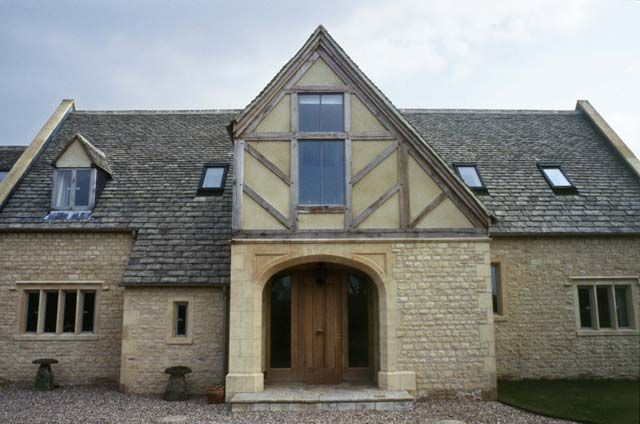 New Oak Frame Houses, Willersey, Gloucestershire | Tyack Architects