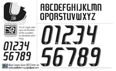 Id Font Please 2008 Mls Jersey Font Lettering And Number Not Solved Font Id Forum Lettering Fonts Jersey Font Football Fonts