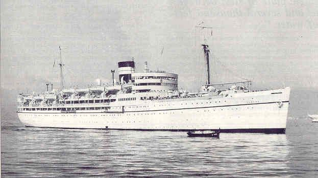 MS DUNERA BISNCo Troopship Did Some Educational - Educational cruise ships