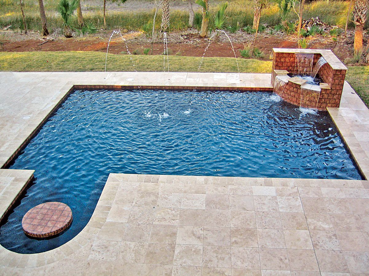 Pictures Of Inground Pools In Design Galleries Blue Haven Blue Haven Pools Pool Pool Photos