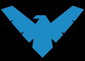 Nightwing Symbol Asa Noturna Referencia De Desenho Ideias Para Cadernos