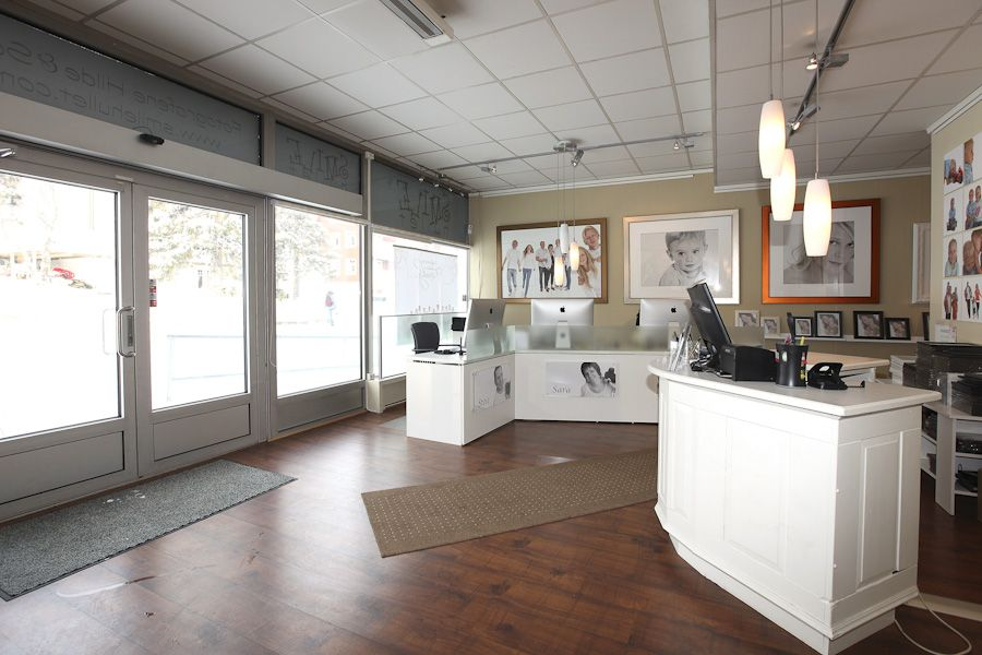 Front Counter And Workstations