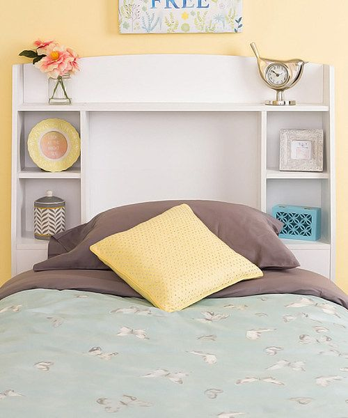 Look at this White Astrid Twin Headboard on #zulily today!