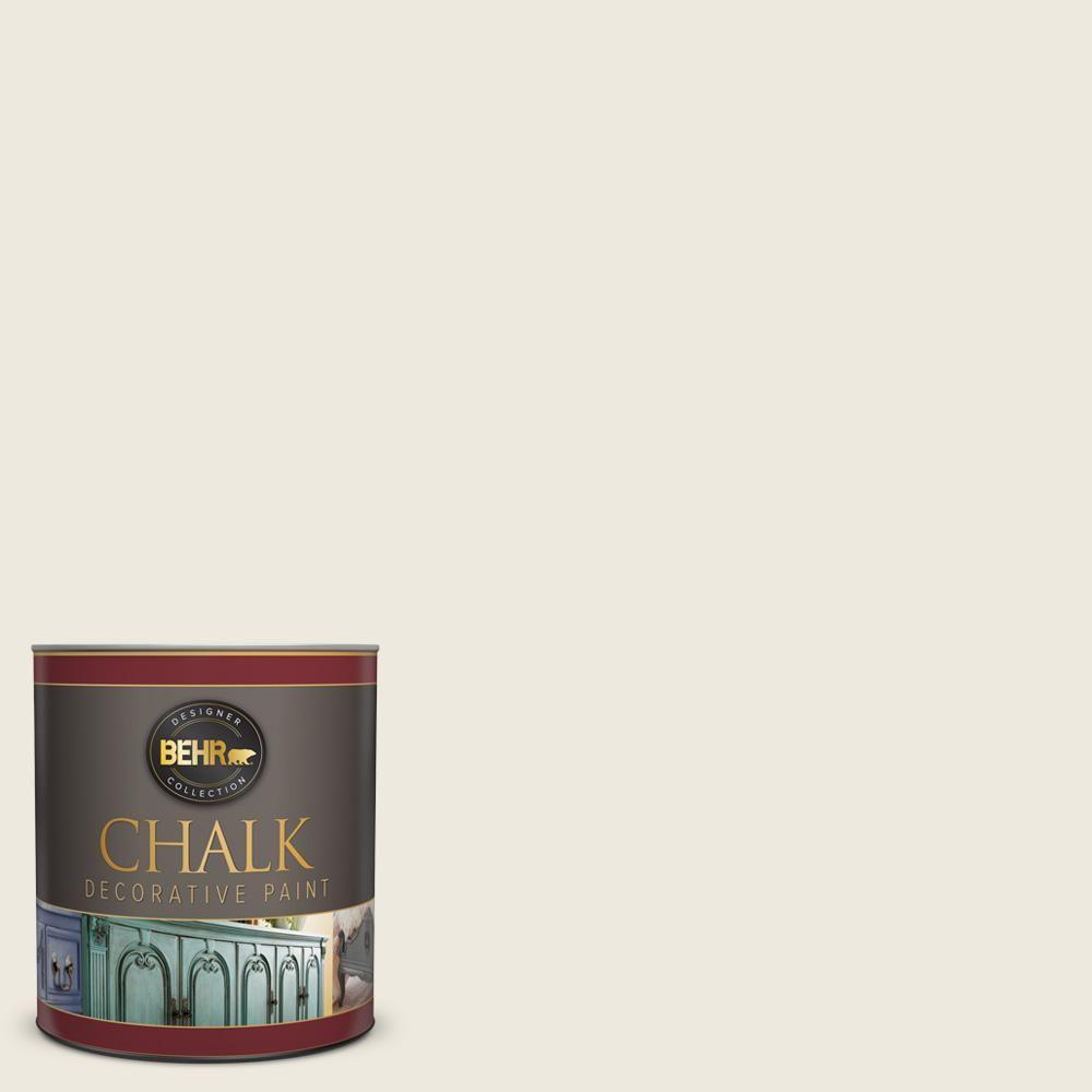Behr 1 qt bcp09 farmhouse white interior chalk