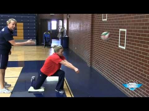 Awesome platform drills. AVCA Video Tip of the Week: Drills for Platform Control - YouTube