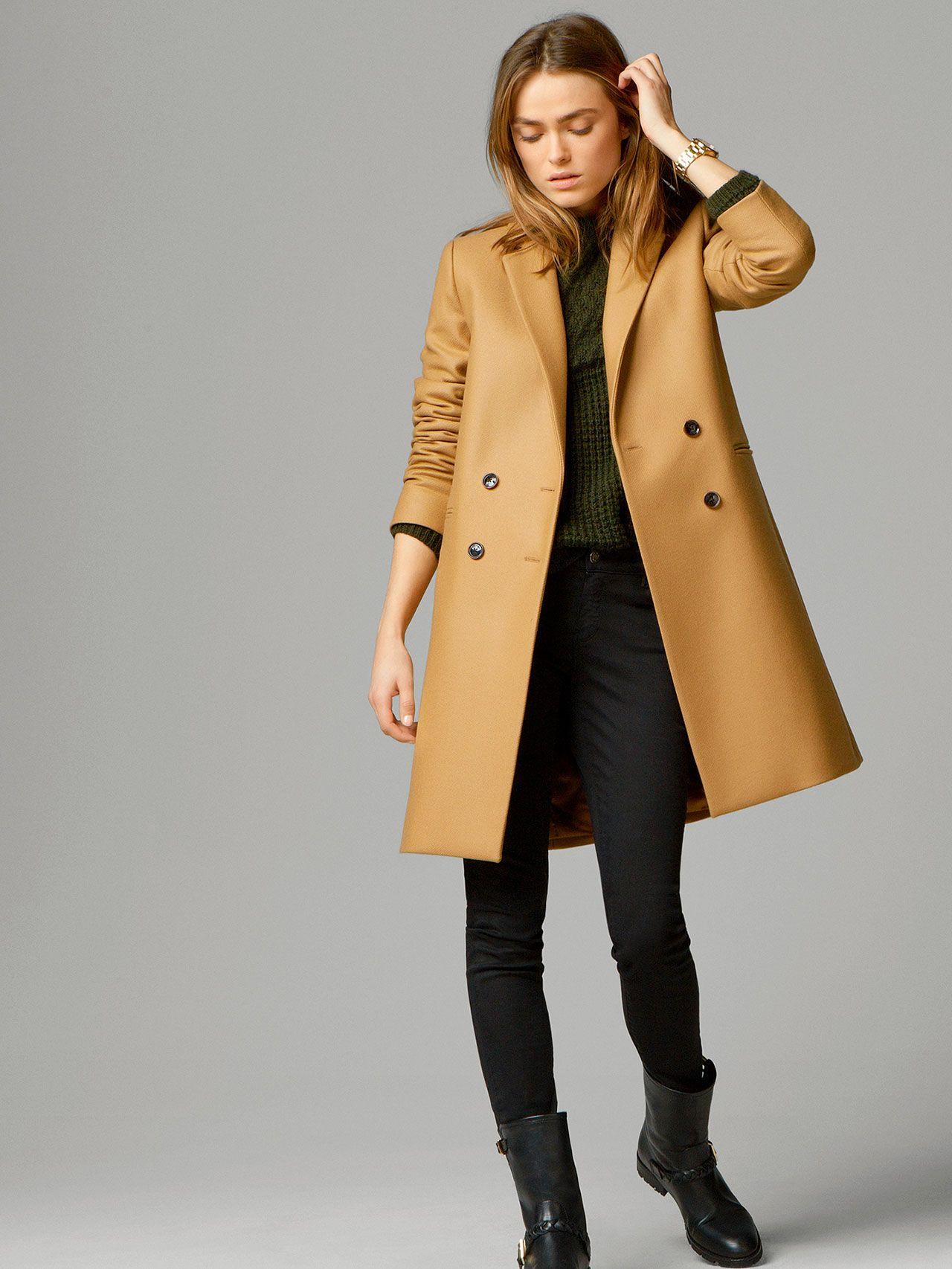 7e8058ac8 ABRIGO CAMEL | Sassy Fashion | Abrigo camel, Abrigos y chaquetas y ...