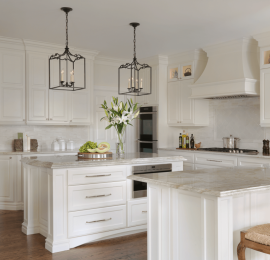 St. Louis Kitchen Designer Classic White Kitchen Design