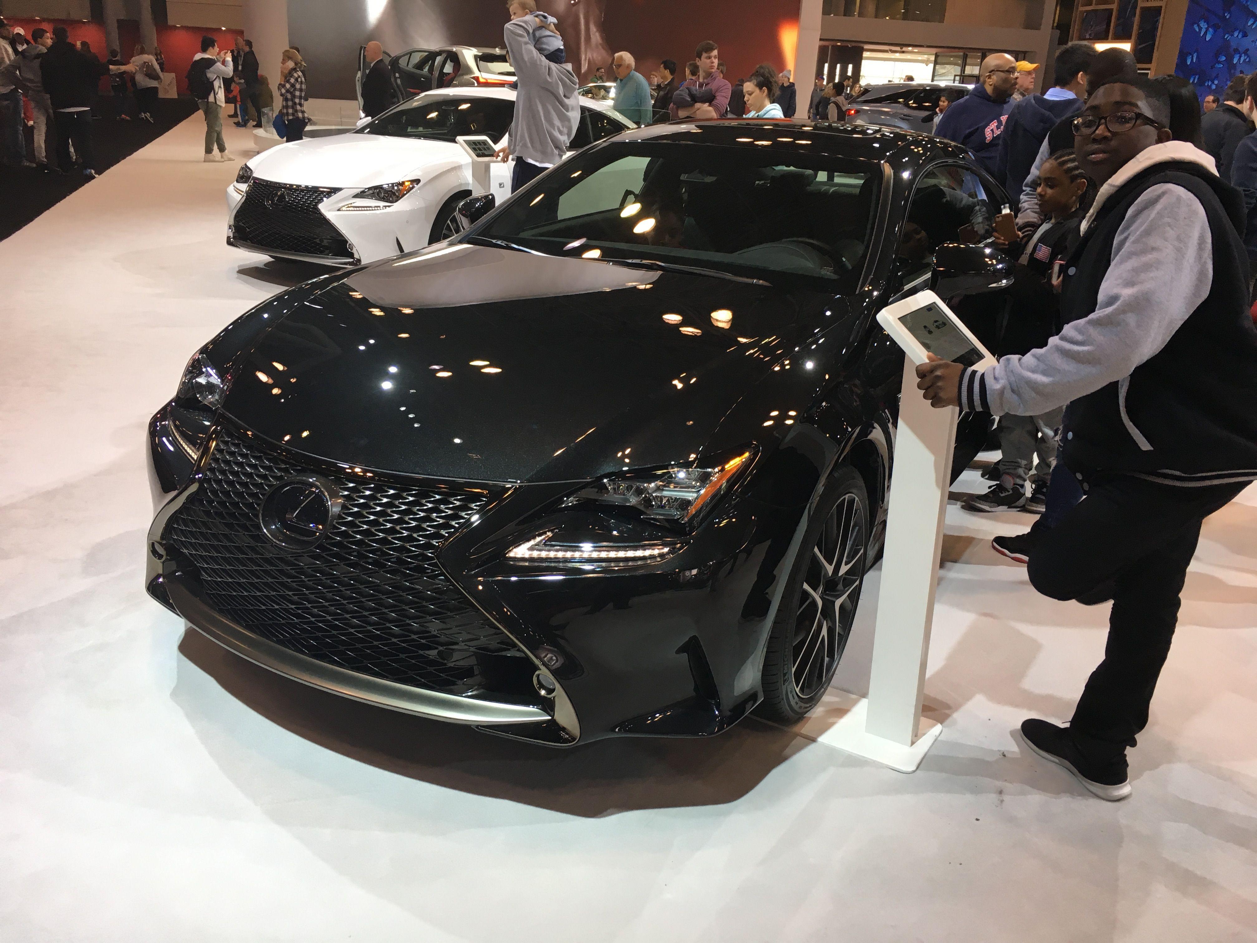 2019 Lexus Rc F Sport Black Line Lexus Sports Luxury Branding 2018 lexus rc 350 f sport black