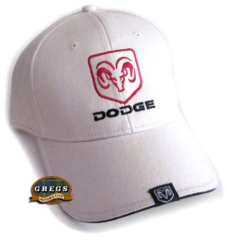 Dodge Ram Hat Cap in Bone Racing Decal Included! (Apparel... https 39f082926aa4