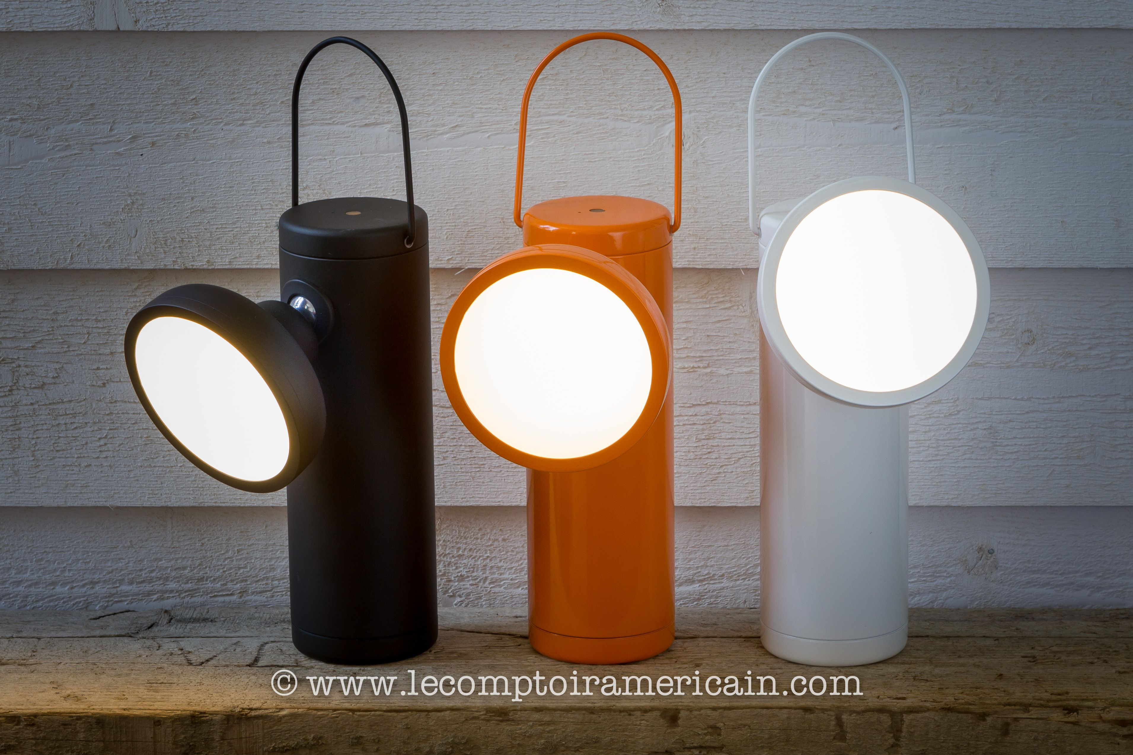 Lampe de mineur à led & batterie #madeincanada #canadaproduct #design #lampdesign #lecomptoiramericain #home #homedesign #led #lampe #eclairage #juniperdesign