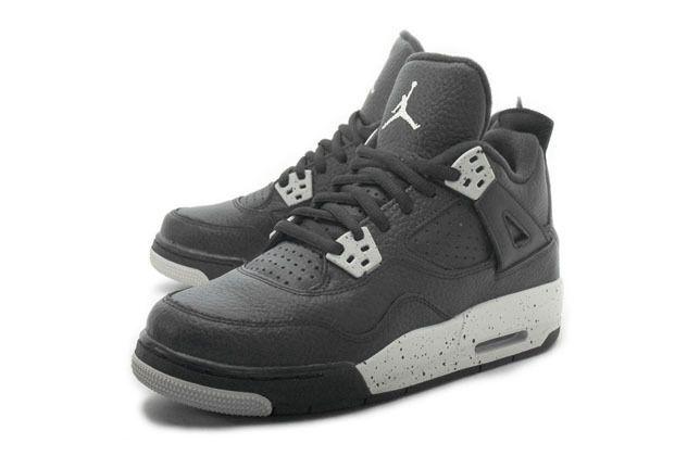 brand new 23e2f 15cf7 Unisex Shoes 155202  Air Jordan 4 Retro Bg Oreo 408452 003 Size 6.5Y Us