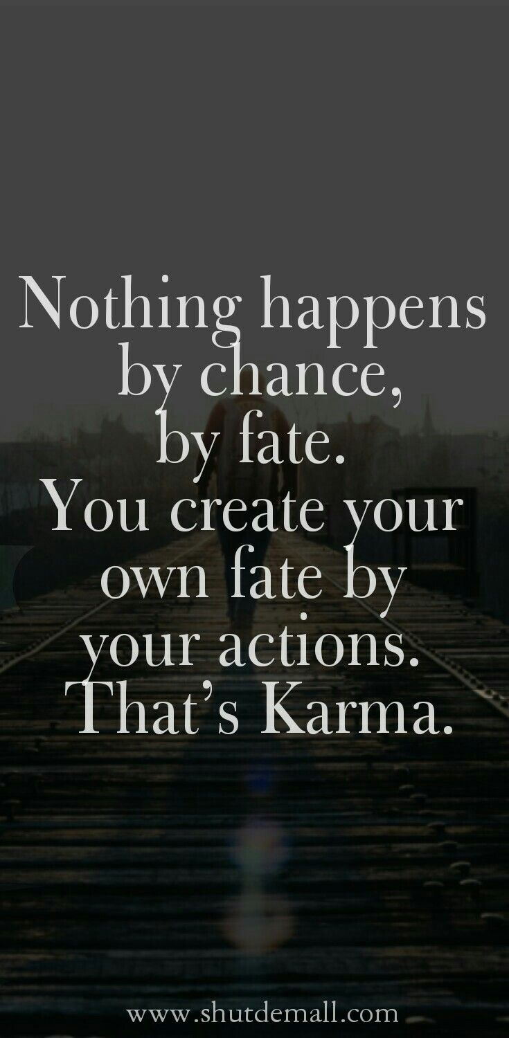 Karma Quotes And Sayings With Pictures Random Quotes Sayings