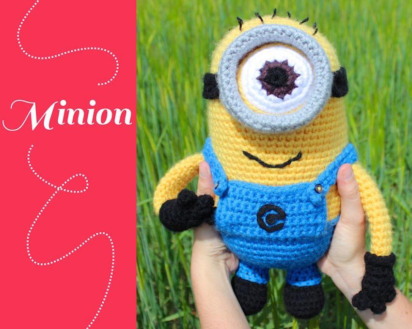 Patron Minion Amigurumi : Patron crochet minion 2 mimoni pinterest patron crochet