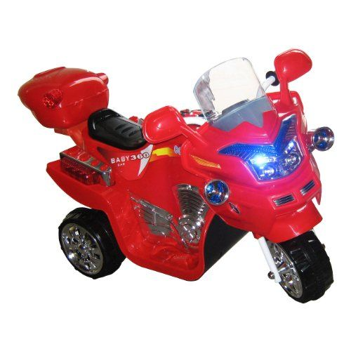 Kids' Electric Vehicles - Lil Rider FX 3 Wheel Battery Powered Bike Red ** More info could be found at the image url.