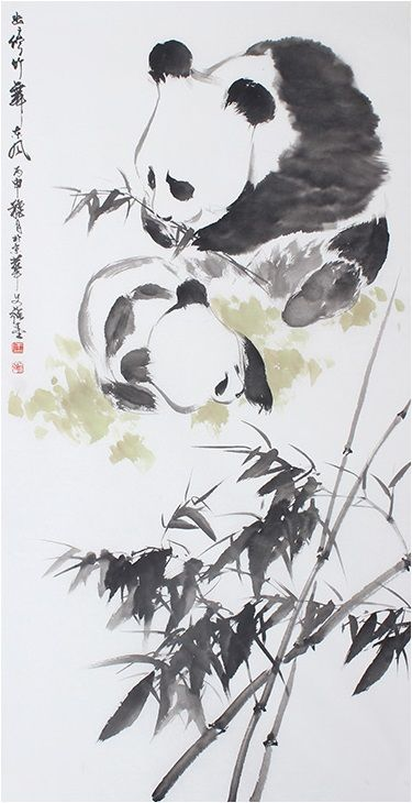 Chinese Brush Painting Artwork Ink Modern Art Famous Classic Best
