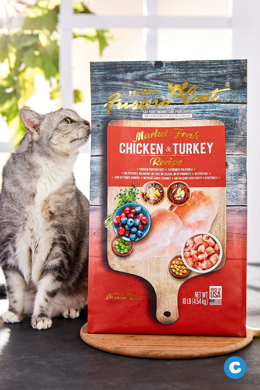 Created with picky eaters in mind, Fussie Cat Market Fresh