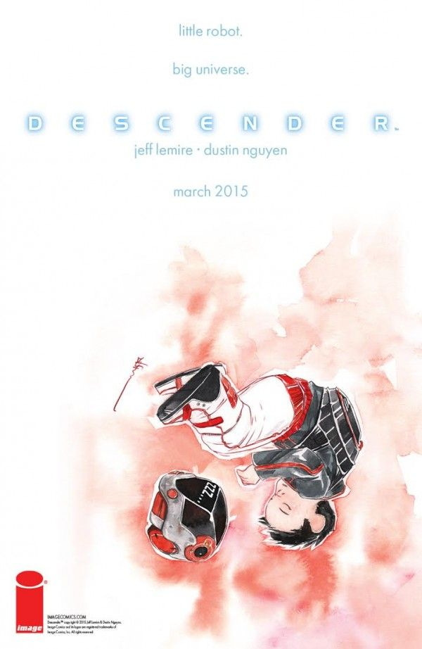 Descender #19 Image 25th Anniversary Tribute Variant Cover Dustin Nguyen