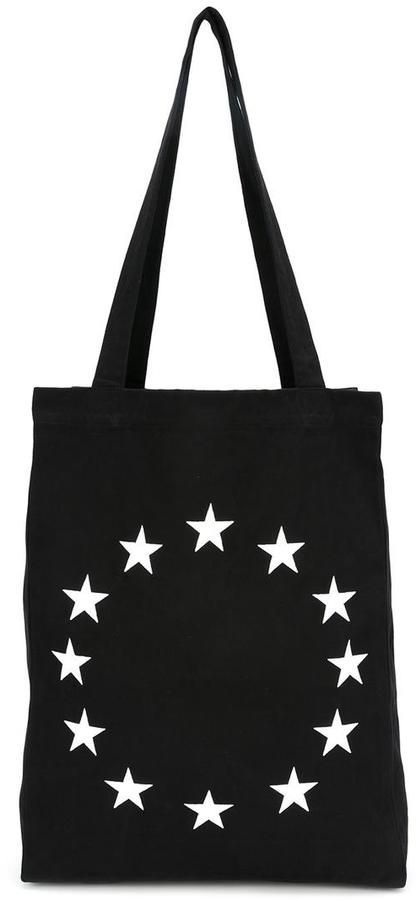 Études embroidered star tote