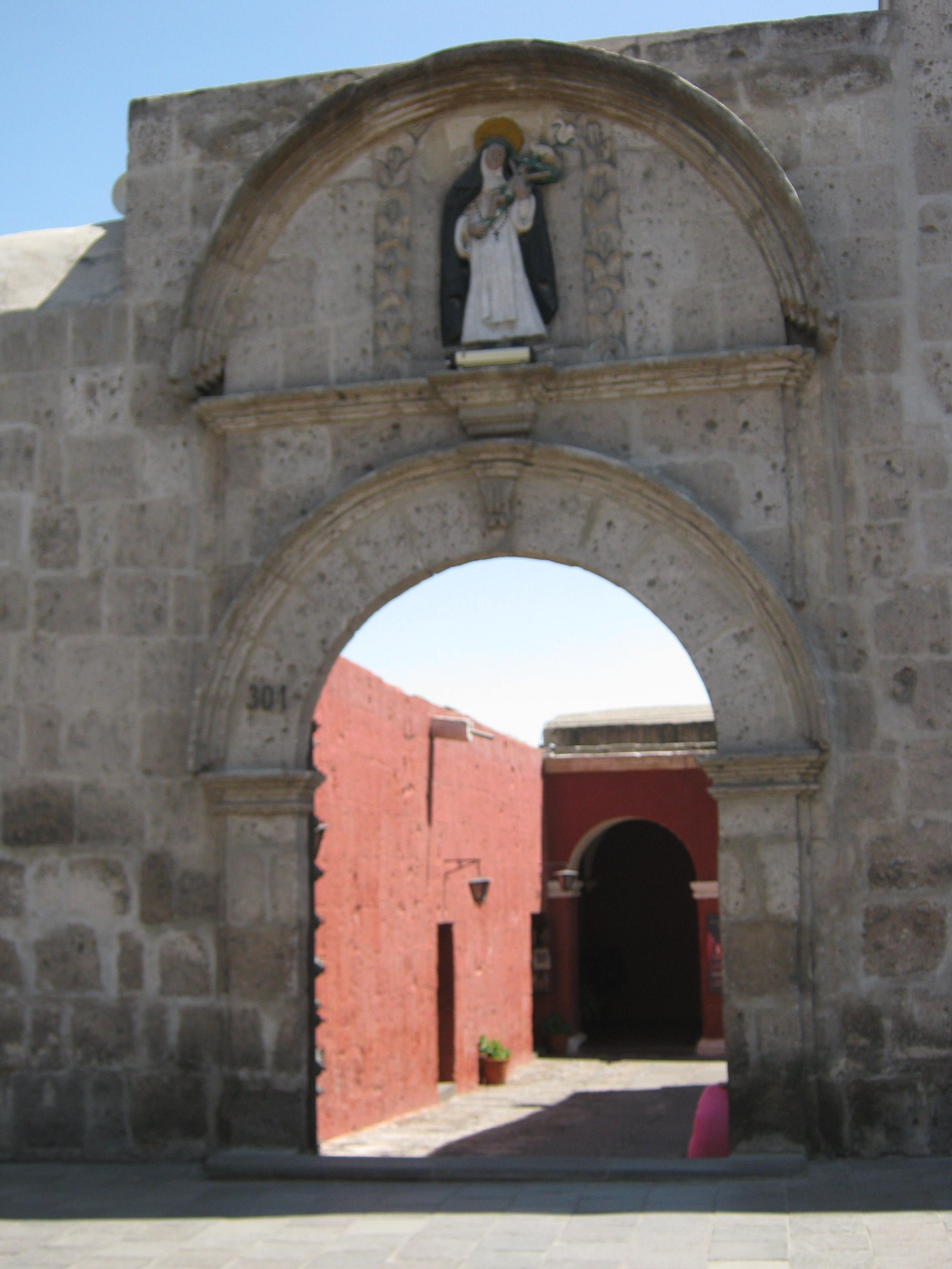 The Monasterio de Santa Catalina in Arequipa Peru is believed to be inhabited by vampires just posing as nuns, truly!