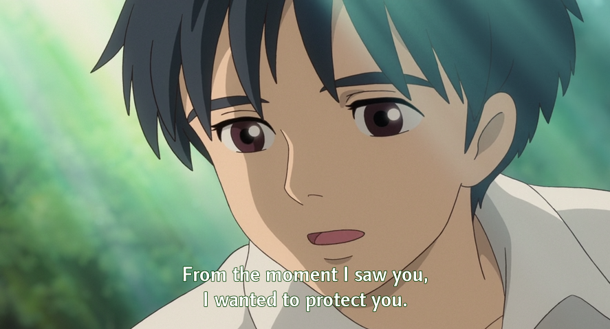 Sho in Karigurashi no Arrietty. Aku sangat sedih karena