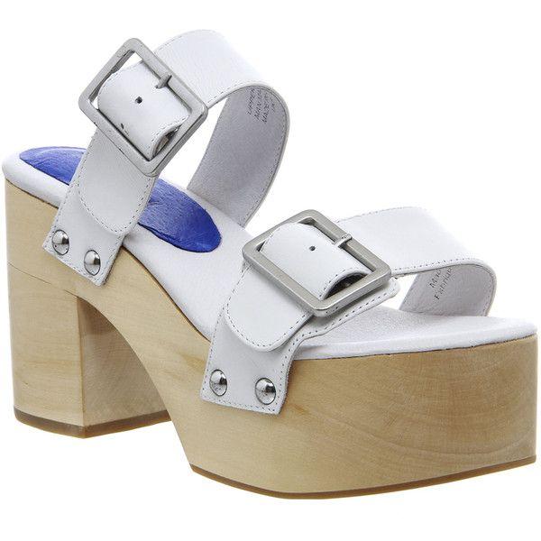 Designer Clothes, Shoes & Bags for Women   SSENSE. White Leather Shoes Leather ClogsWhite ShoesSlip On ShoesJeffrey CampbellClog SandalsHigh HeelShoe  ...