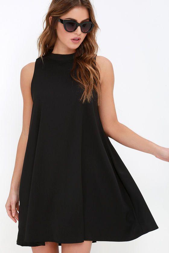 39+ Black swing dress information