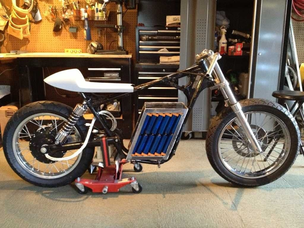 Awesome Diy Battery Pack For Electric Motorcycle Photo