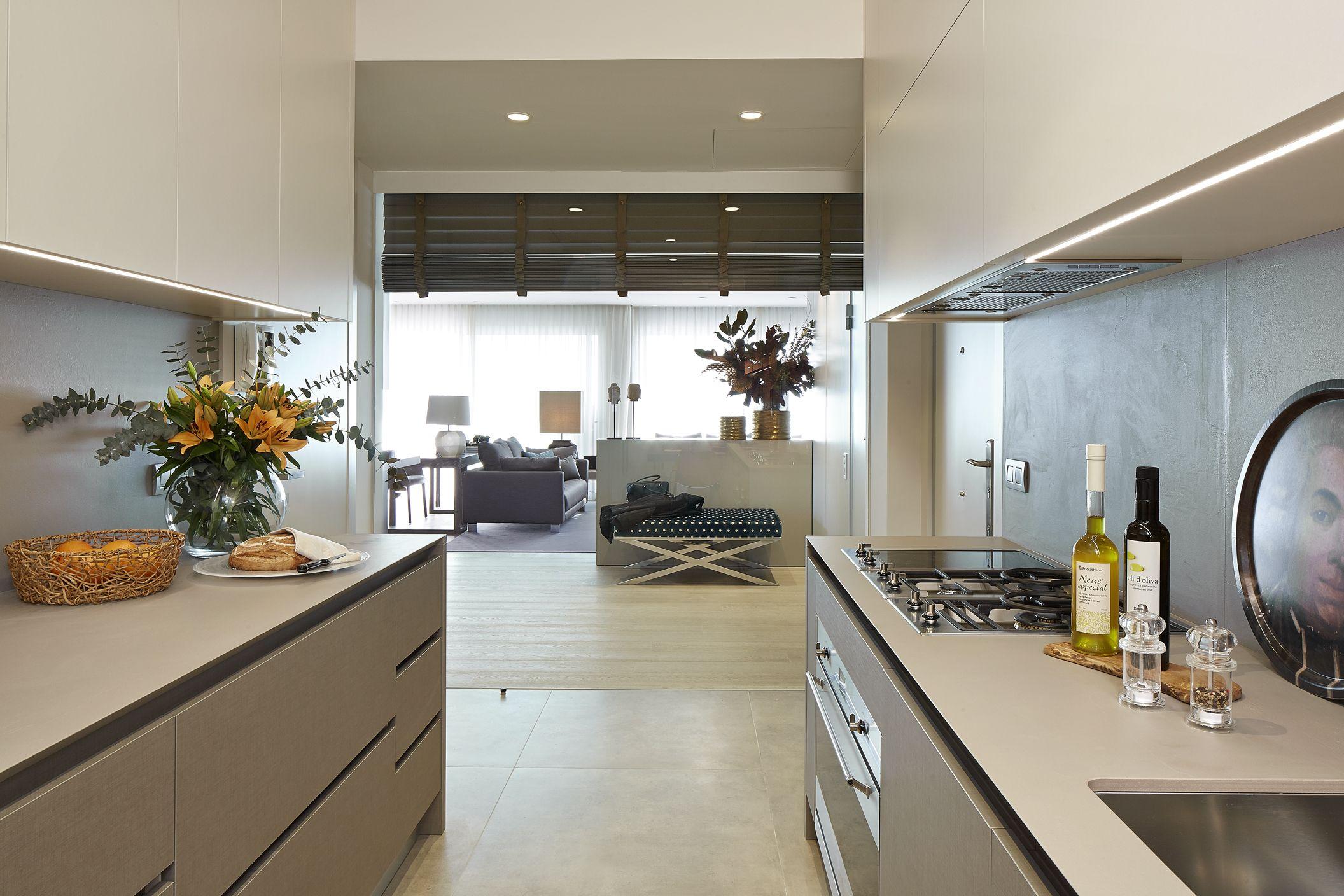 Molins Interiors Arquitectura Interior  Cocina  Recibidor  Entrada