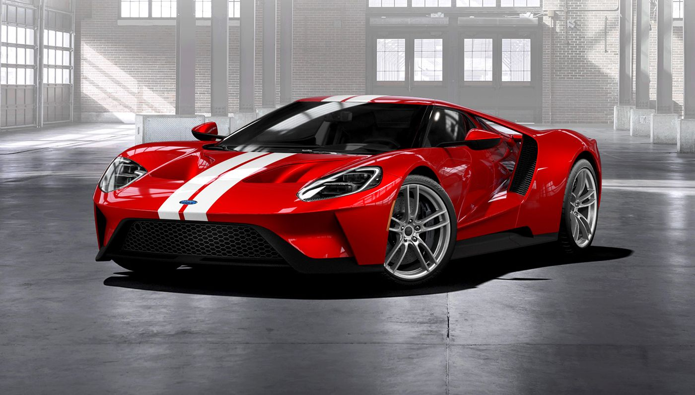Ford Now Taking Orders For The New GT Sports Car Automobiles - New performance cars