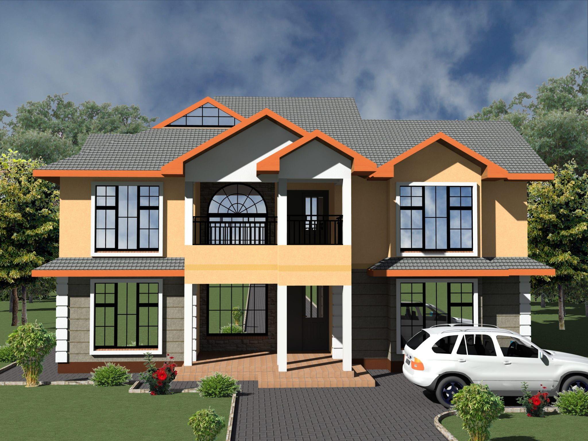 5 Bedroom House Designs In Kenya Hpd Consult En 2020 Casas